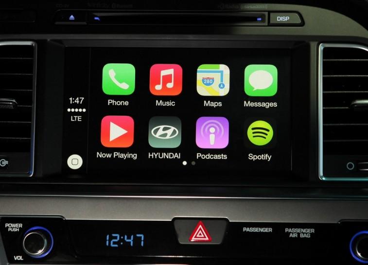 Hyunda Apple CarPlay