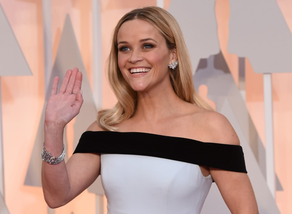 Reese Witherspoon has a heart shaped face