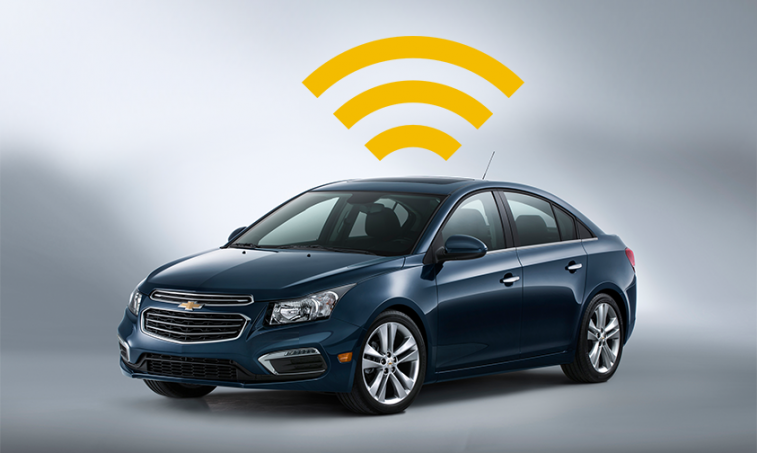 Chevy car with Wi-Fi