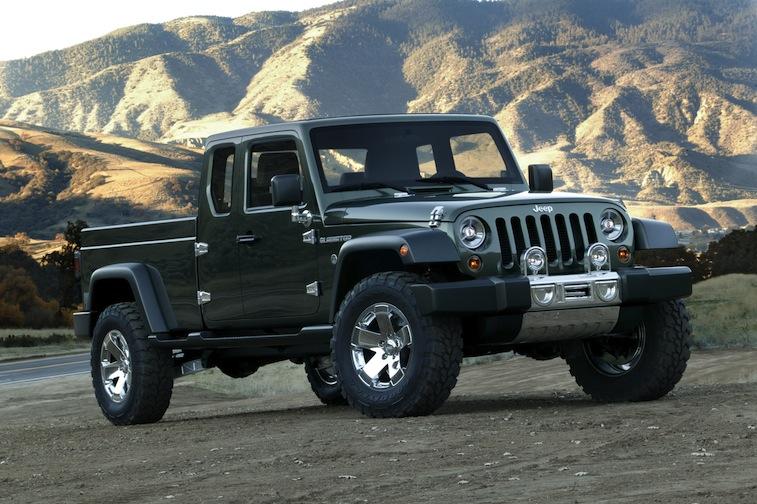 2005 Jeep(R) Gladiator Concept Vehicle