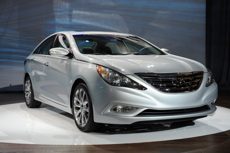 The Hyundai Sonata 2.0T with a turbochar