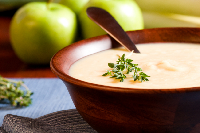 Apple and Leek Soup
