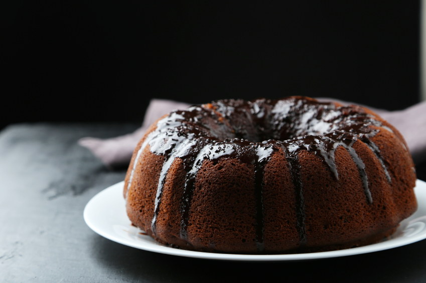 Duncan Hines Triple Chocolate Bundt Cake