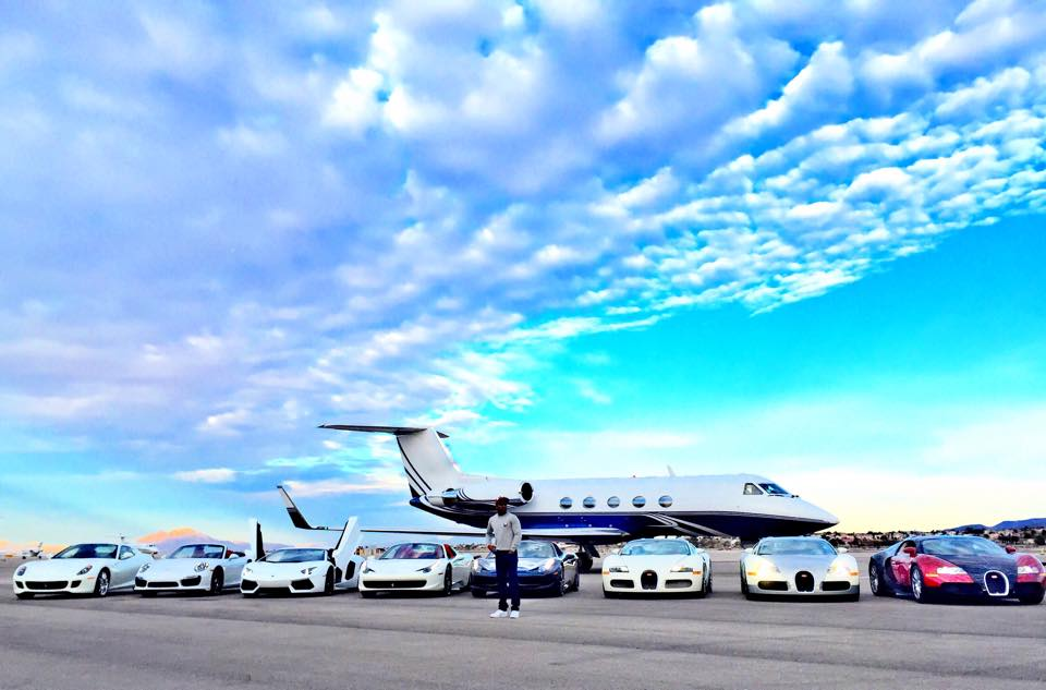 Floyd Mayweather's car collection
