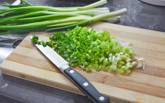 Green onions, chopped
