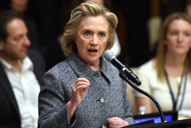 Hillary Clinton, Source: Don Emmert/AFP/Getty Images