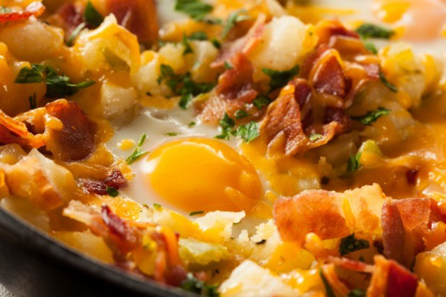 crispy hash breakfast