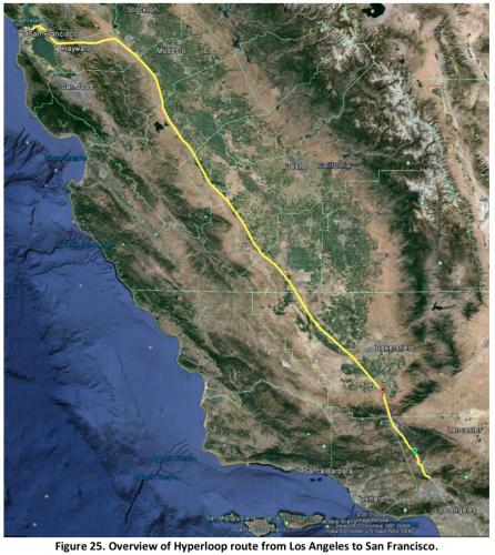 Hyperloop Map