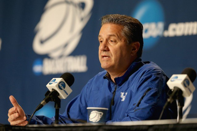 John Calipari the head coach of the Kentucky
