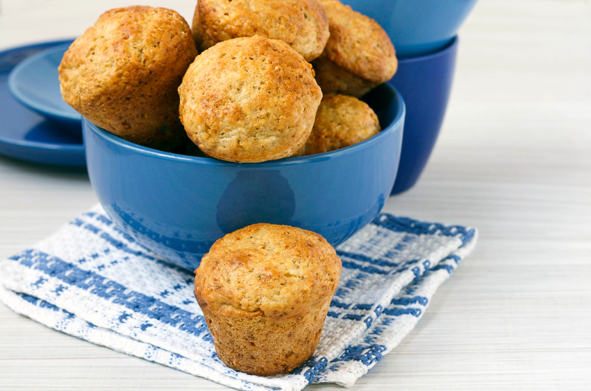 Pear and Apple Muffins