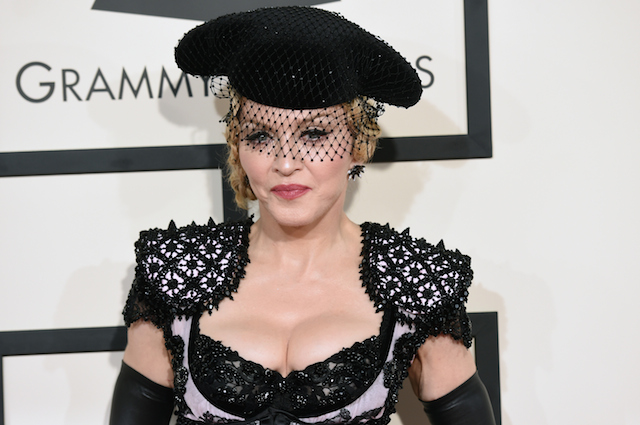 Singer Madonna attends The 57th Annual GRAMMY Awards | Jason Merritt/Getty Images