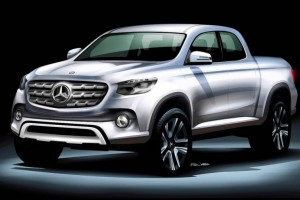 Would You Buy a Mercedes Pickup Truck?