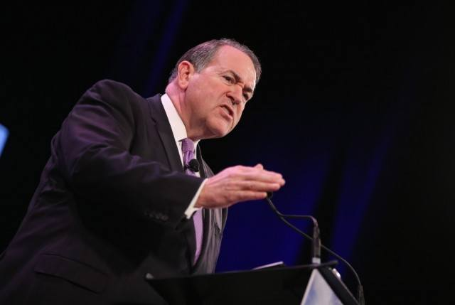 Mike Huckabee, Source: Scott Olson/Getty News Images