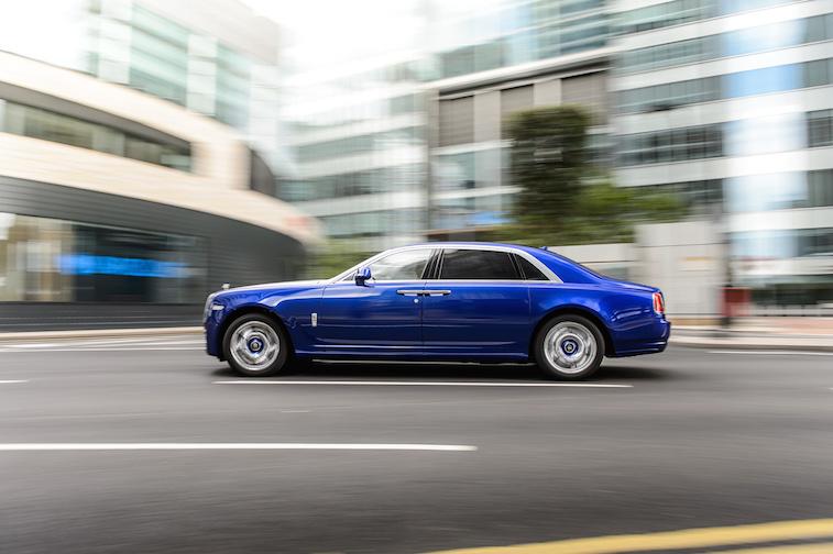 Rolls-Royce Ghost Series II, London Photograph: James Lipman +44 7803 885275