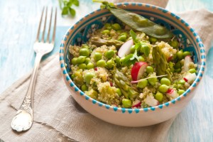 5 Salads Combining Spring Flavors With Warm Grains and Greens
