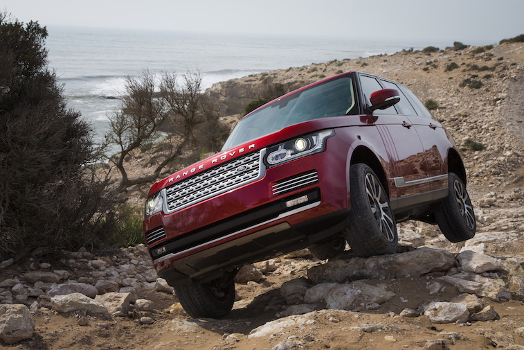 Range Rover off-road