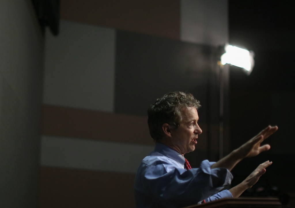 Rand Paul, Source: Mark Wilson/Getty News Images