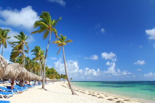 Resort beach, punta cana