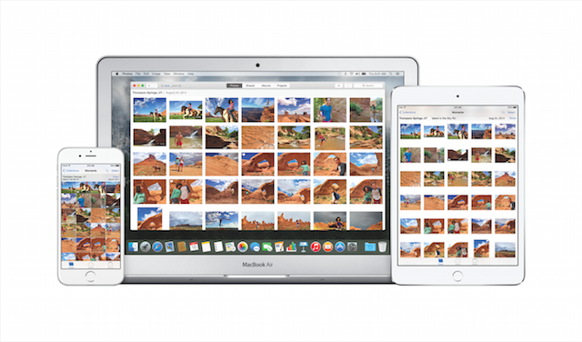 Photos app for OS X and iOS