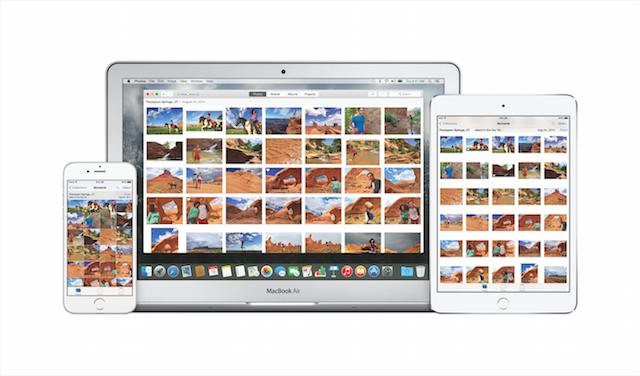 Photos app for OS X and iOS
