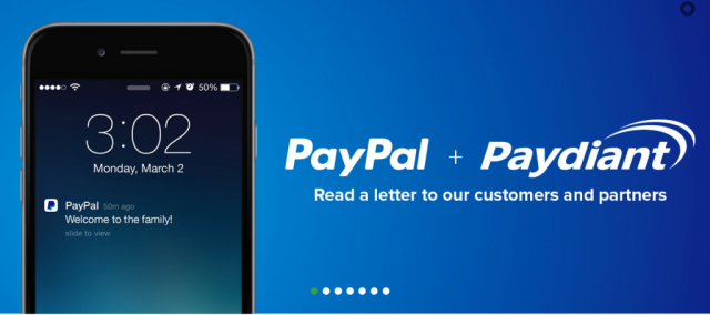 PayPal and Paydiant