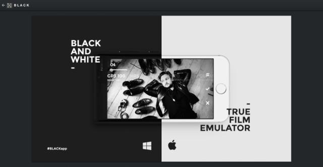 Black app