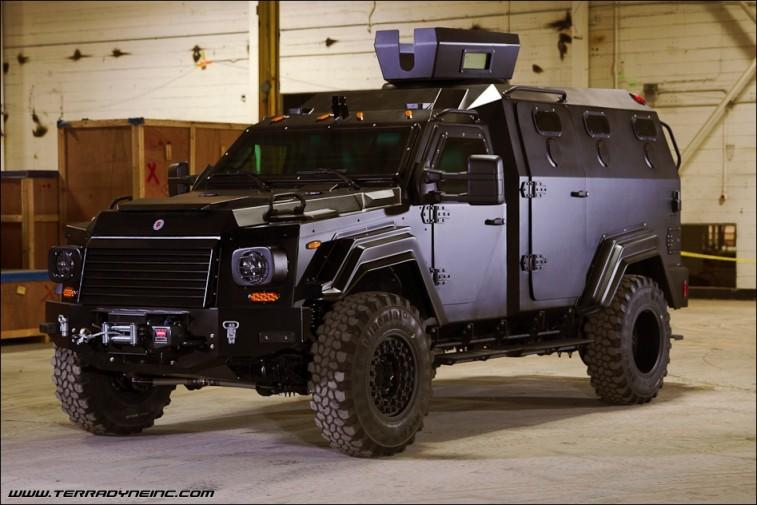 Terradyne Ghurka armored truck