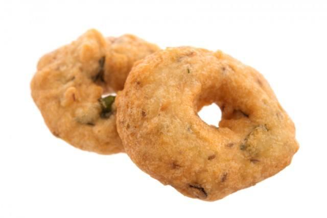 Savory cream cheese and herb doughnuts