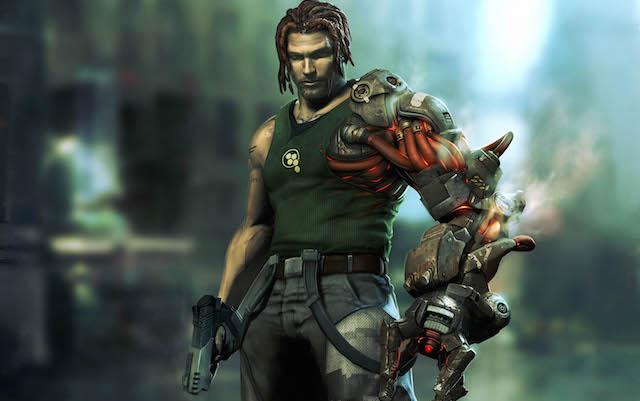 The hero of 'Bionic Commando'