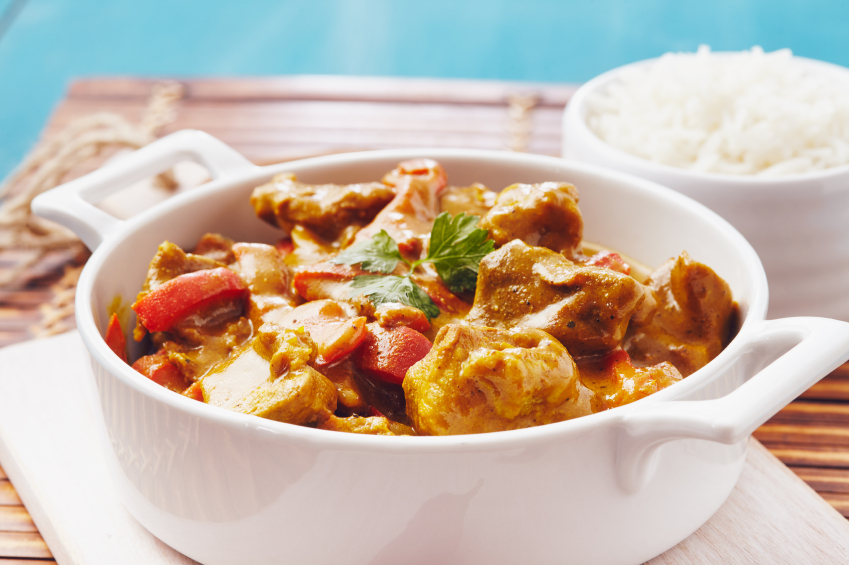 curried pork stew