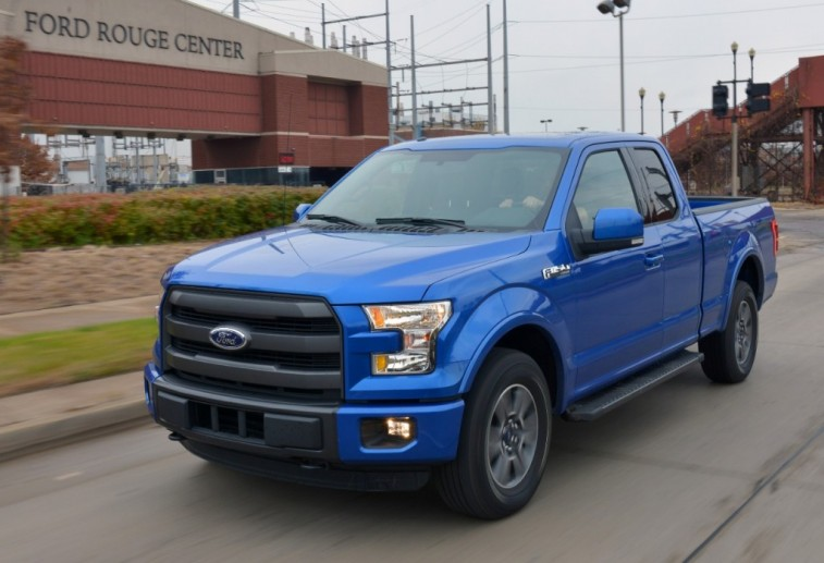 2016 Ford F-150 outside Rouge assembly plant