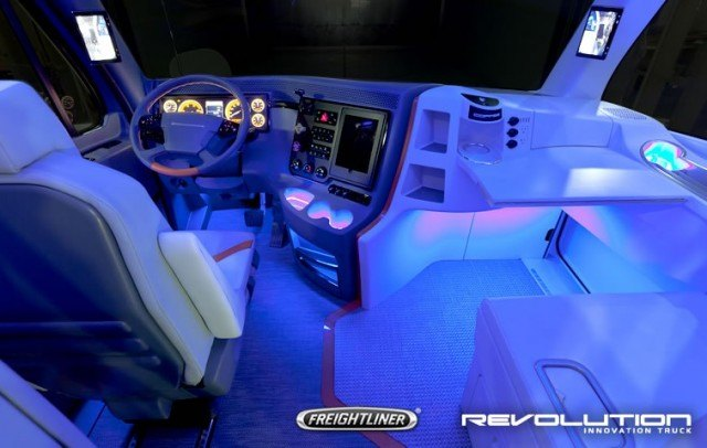 Future of freight 4 semi trucks that look like transformers for Future interieur