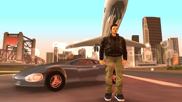 The antihero of 'Grand Theft Auto 3'
