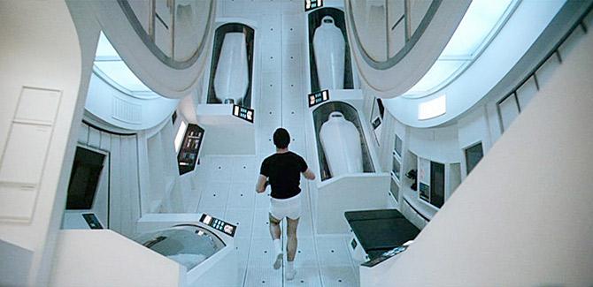 Gravity Jog - 2001: A Space Odyssey