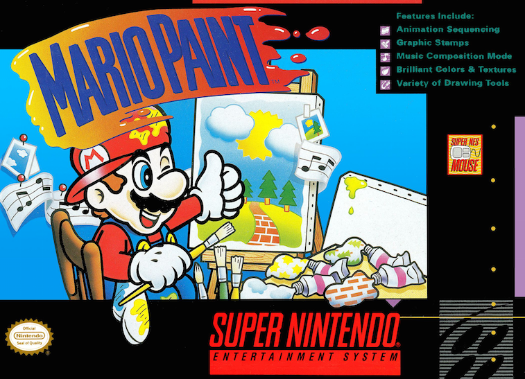 'Mario Paint' cover art
