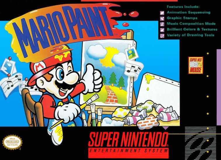 'Mario Paint' cover art