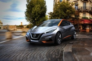 Nissan Gets Edgy With the Subcompact Sway