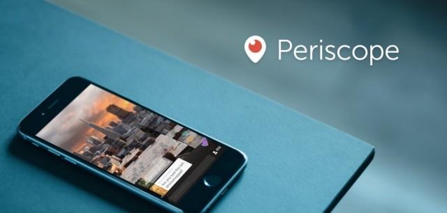 Periscope livestreaming app