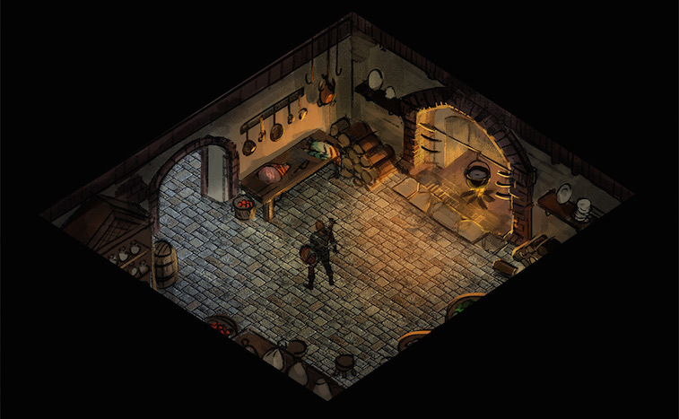 An adventurer sets out on a quest.