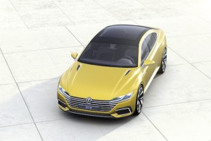 Volkswagen Channels Audi With the Sport Coupe Concept