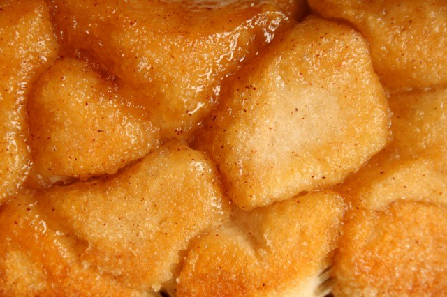 Monkey bread is a good shortcut dessert recipe