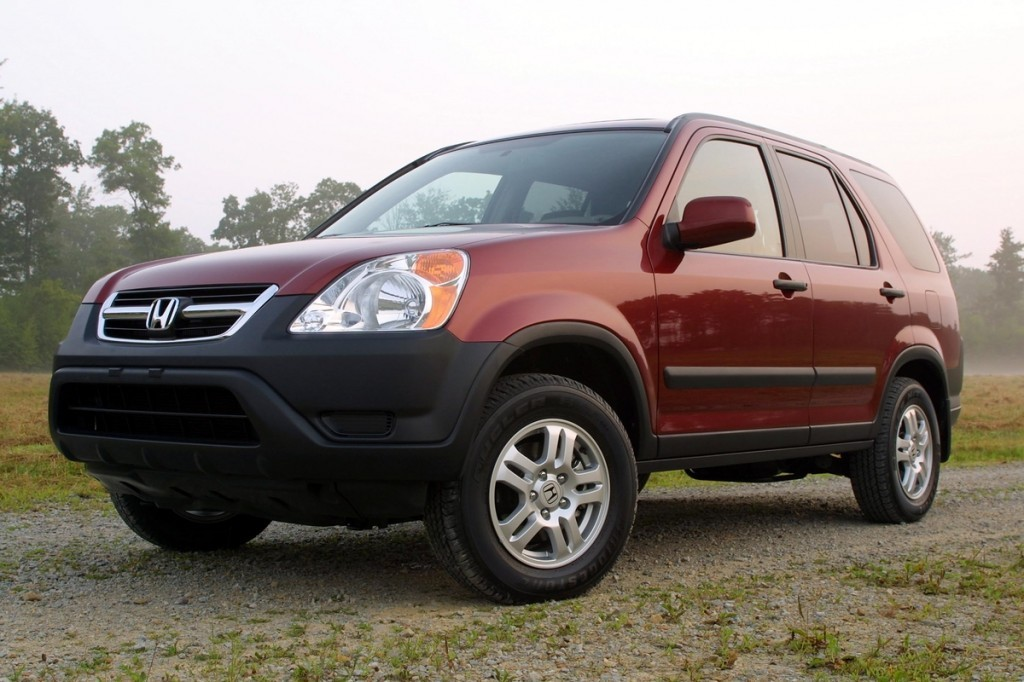 10 used cars hit hardest by the takata airbag scandal for Honda crv competitors