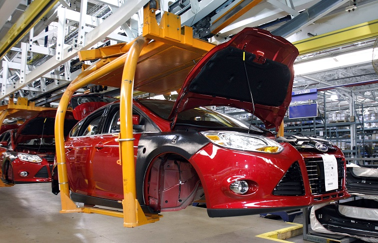Ford plant in Michigan