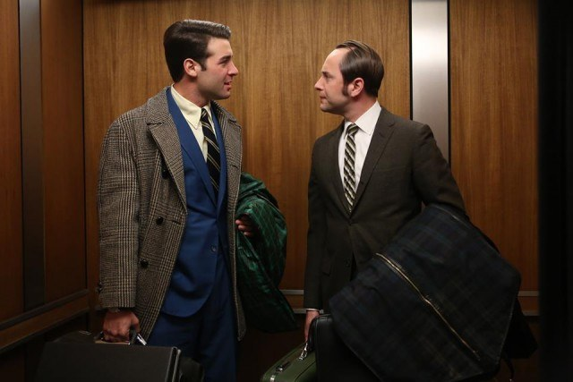 Pete Campbell Bob Benson Mad Men