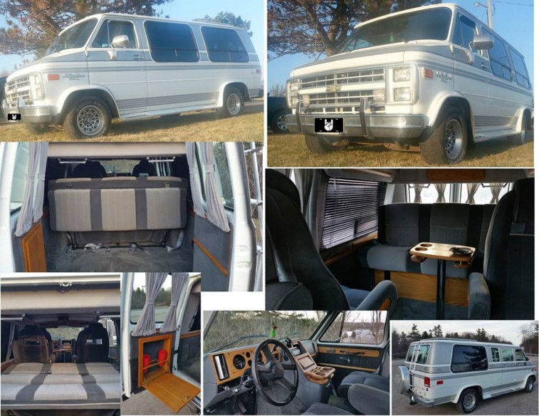 1980s Chevrolet Conversion Van