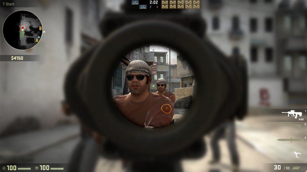 screenshot from Counter-Strike