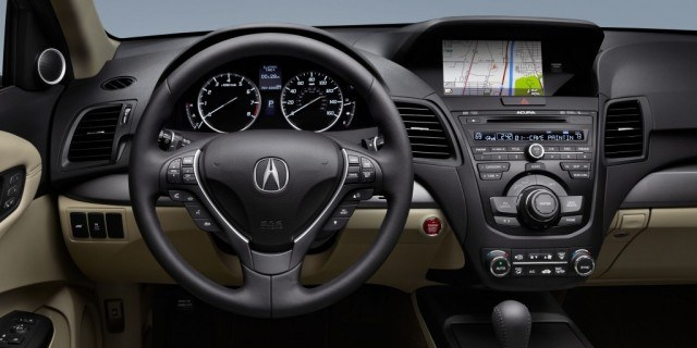 2015 Acura RDX Interior GPS