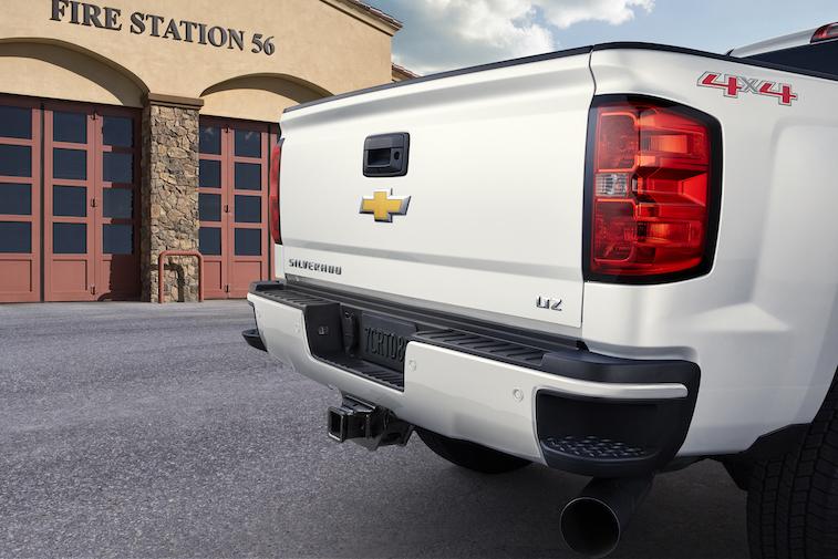 2015 Silverado Custom Sport HD