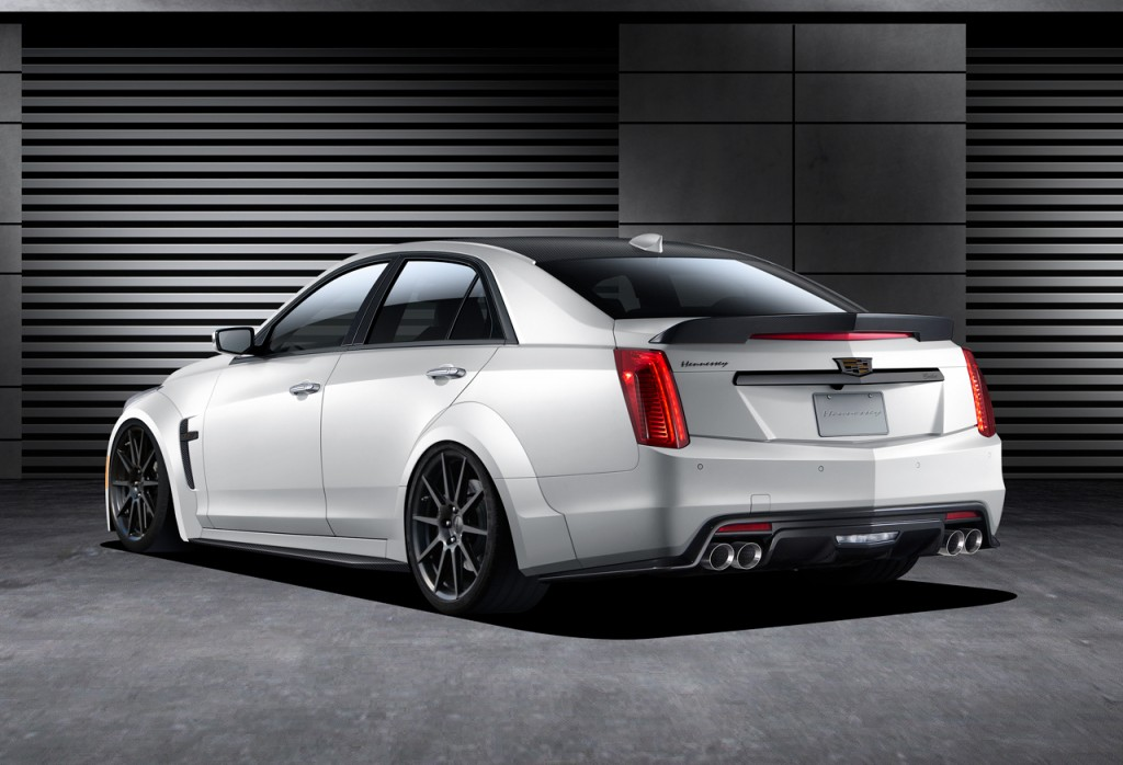 2016_Cadillac_Hennessey_CTSV_Rear