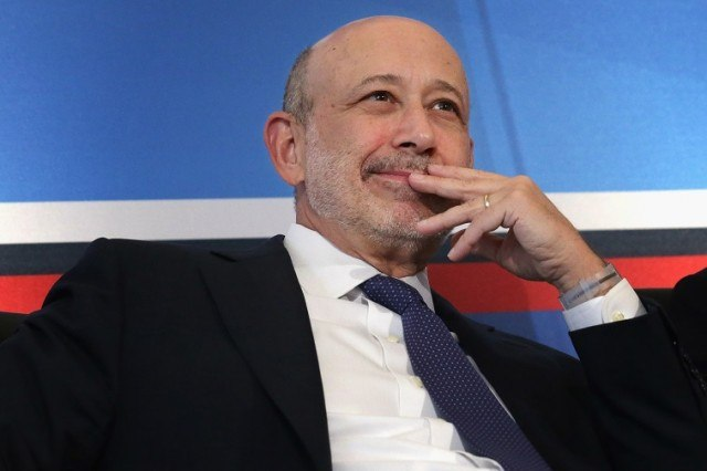 Goldman Sachs Chairman and CEO Lloyd Blankfein participates in a panel - Chip Somodevilla/Getty Images